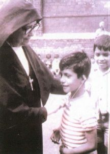 Sr. Romero con bimbo